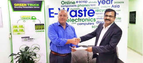 Enviroserve appointed Aroma Building Contracting LLC to build the worlds largest integrated recycling plant for electronics and specialized waste located at Dubai industrial city